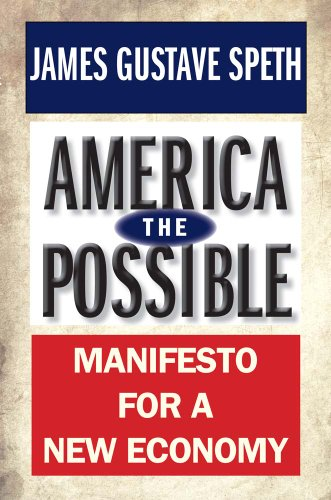 America the Possible Manifesto for a New Economy  2013 9780300198348 Front Cover