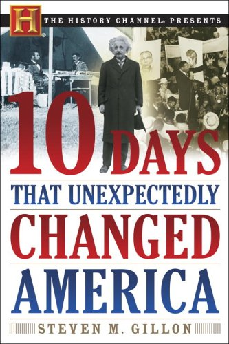 10 Days That Unexpectedly Changed America   2006 edition cover