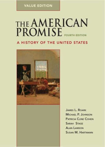 American Promise A History of the United States 4th edition cover
