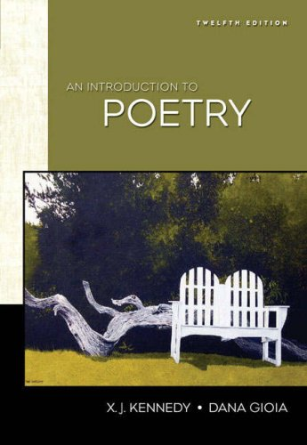 Introduction to Poetry  12th 2007 (Revised) edition cover