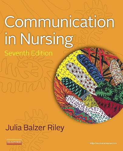 Communication in Nursing  7th 2012 edition cover