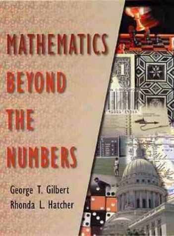 Mathematics Beyond the Numbers  1st 2000 edition cover