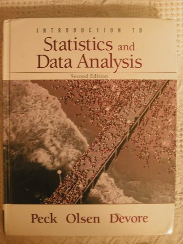 INTRO.TO STAT.+DATA ANALYSIS-T 2nd 2005 9780495113348 Front Cover