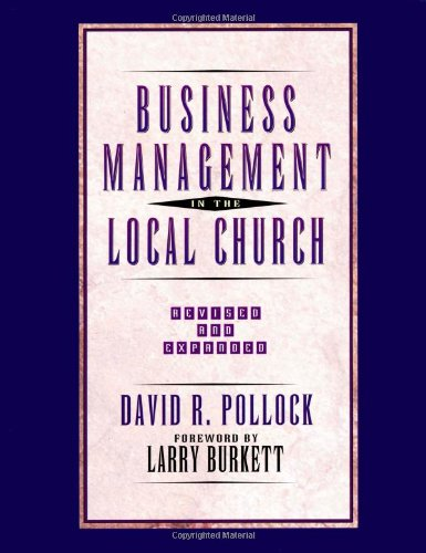 Business Management in the Local Church   1996 (Revised) edition cover