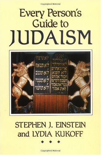 Every Person's Guide to Judaism 1st edition cover