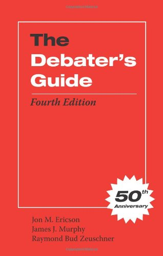 Debater's Guide, Fourth Edition  4th 2011 edition cover