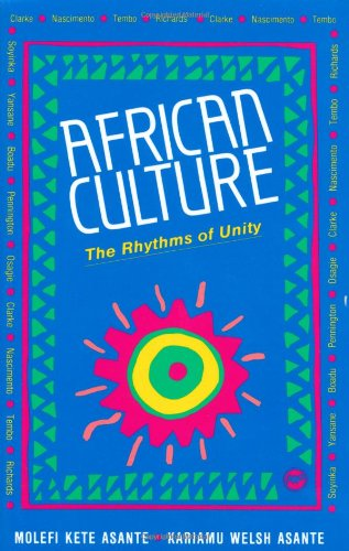 African Culture The Rhythms of Unity  1996 edition cover