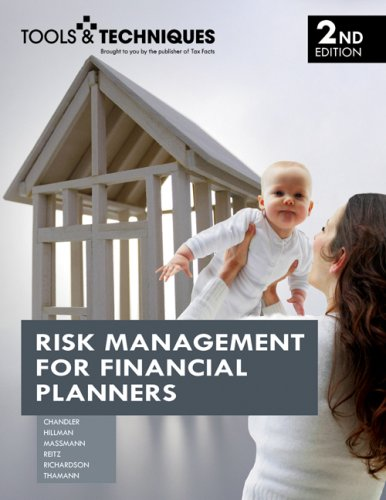 Risk Management for Financial Planners:  2007 edition cover