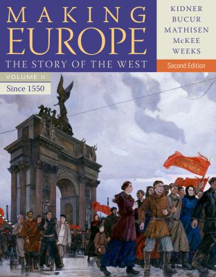 Making Europe The Story of the West since 1550 2nd 2014 edition cover