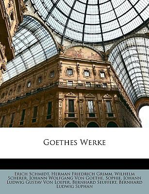 Goethes Werke  N/A edition cover