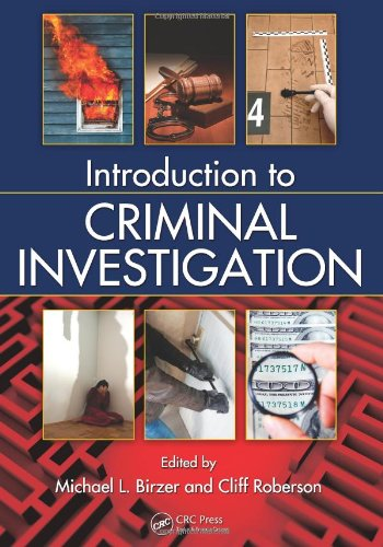 Introduction to Criminal Investigation   2011 edition cover