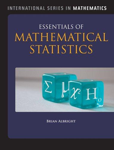 Essentials of Mathematical Statistics   2014 edition cover