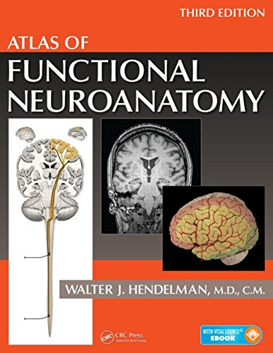 Atlas of Functional Neuroanatomy, Third Edition  3rd 2015 (Revised) edition cover