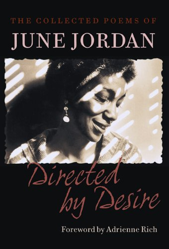 Directed by Desire The Collected Poems of June Jordan N/A edition cover