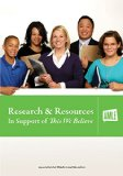 Research & Resources in Support of This We Believe:   2010 edition cover