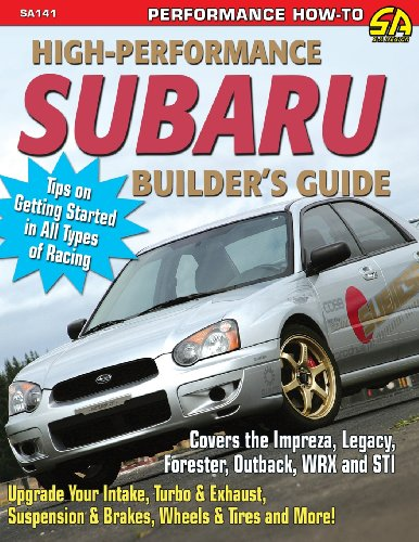 High-Performance Subaru Builder's Guide  0 edition cover
