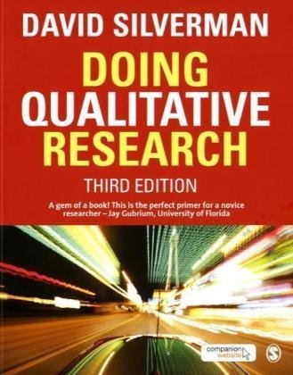 Doing Qualitative Research  3rd 2010 edition cover