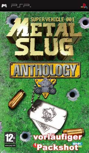 Metal Slug - Anthology Sony PSP artwork