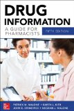 Drug Information a Guide for Pharmacists 5/e  5th 2014 edition cover