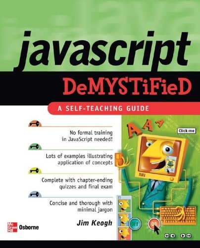 JavaScript Demystified   2005 9780072261349 Front Cover
