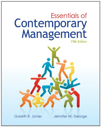 Essentials of Contemporary Management  5th 2013 9780078029349 Front Cover