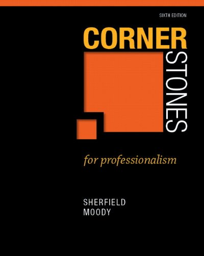 Cornerstones for Professionalism  2nd 2013 (Revised) edition cover