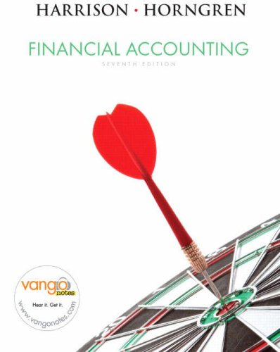 Financial Accounting  7th 2008 edition cover