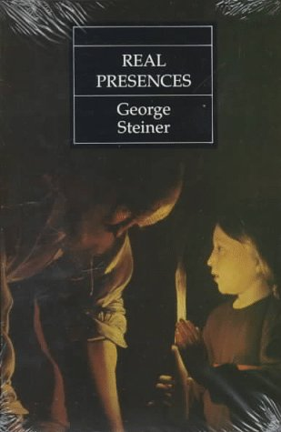 Real Presences  Reprint  edition cover