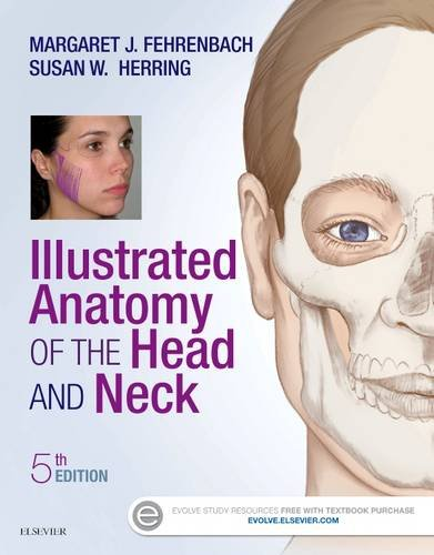 Illustrated Anatomy of the Head and Neck  5th 2016 9780323396349 Front Cover