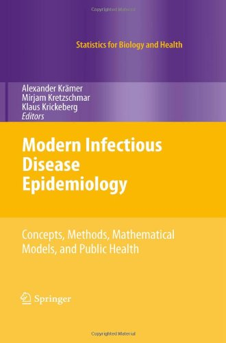 Modern Infectious Disease Epidemiology Concepts, Methods, Mathematical Models, and Public Health  2010 9780387938349 Front Cover