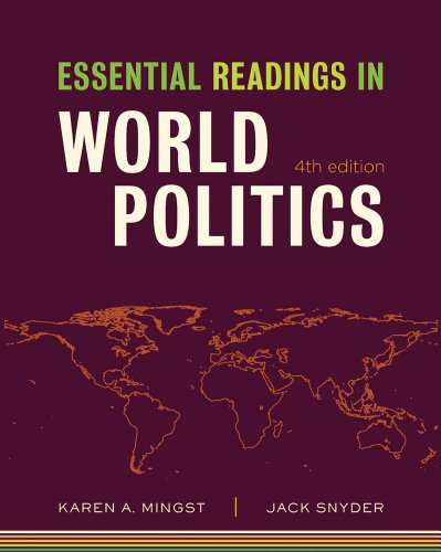 Essential Readings in World Politics  4th 2011 edition cover