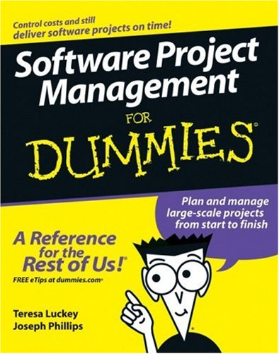 Software Project Management for Dummies   2006 9780471749349 Front Cover