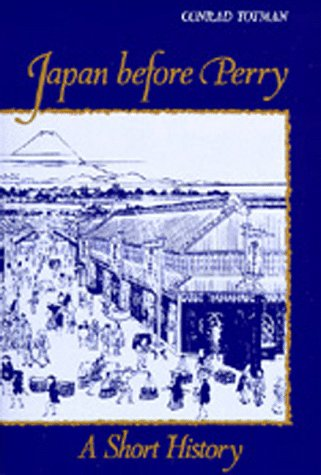 Japan Before Perry A Short History N/A edition cover