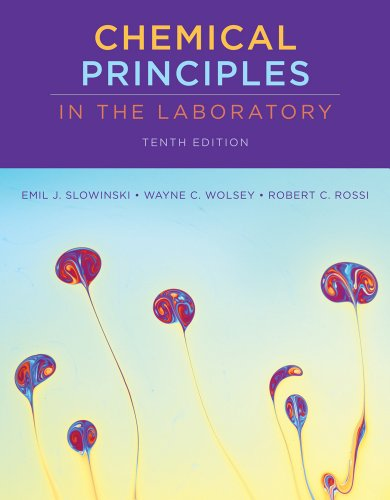 Chemical Principles in the Laboratory  10th 2012 edition cover