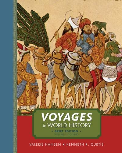 Voyages in World History, Volume I, Brief   2013 edition cover