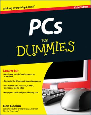 PCs for Dummies�  12th 2012 edition cover