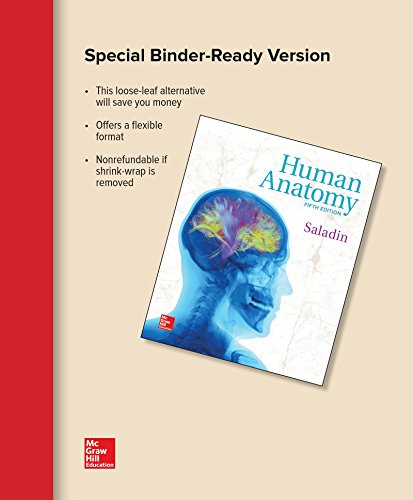 HUMAN ANATOMY (LOOSELEAF)               N/A 9781259681349 Front Cover
