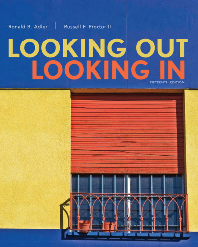 Looking Out, Looking in:   2016 9781305645349 Front Cover