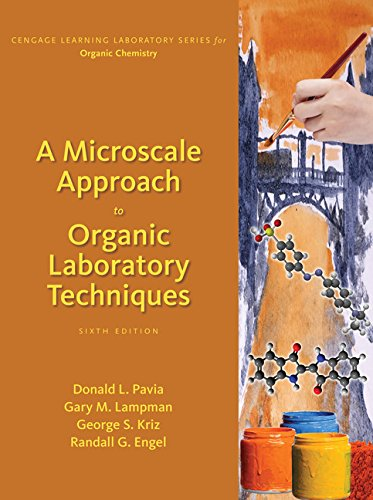 A Microscale Approach to Organic Laboratory Techniques:   2017 9781305968349 Front Cover