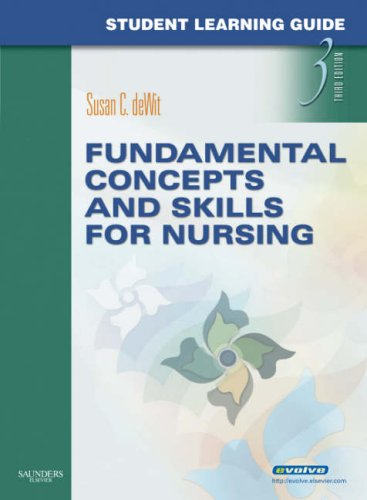 Student Learning Guide for Fundamental Concepts and Skills for Nursing  3rd edition cover