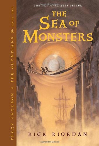 Sea of Monsters  2nd (Revised) 9781423103349 Front Cover