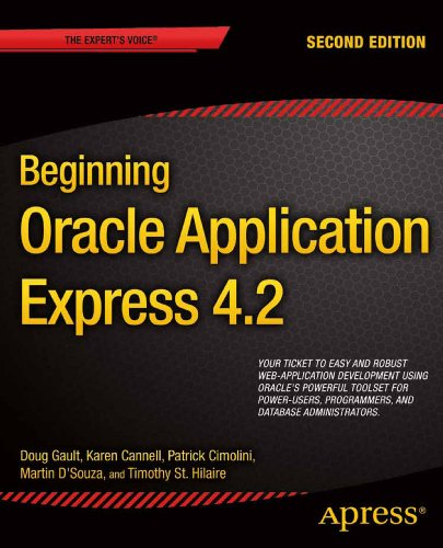 Beginning Oracle Application Express 4. 2  2nd 2013 edition cover