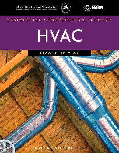 Residential Construction Academy HVAC  2nd 2012 edition cover