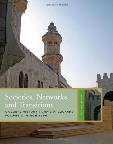 Societies, Networks, and Transitions, Volume C  2nd 2011 edition cover