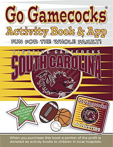 Go Gamecocks Activity Book and App   2014 9781941788349 Front Cover
