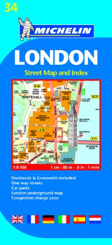London Street Map and Index  N/A 9782067137349 Front Cover