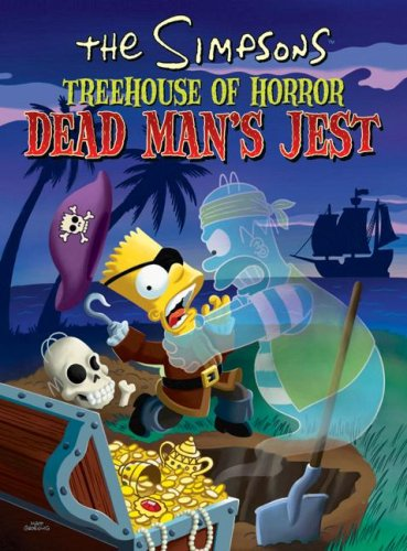 Simpsons Treehouse of Horror Dead Man's Jest  N/A 9780061571350 Front Cover