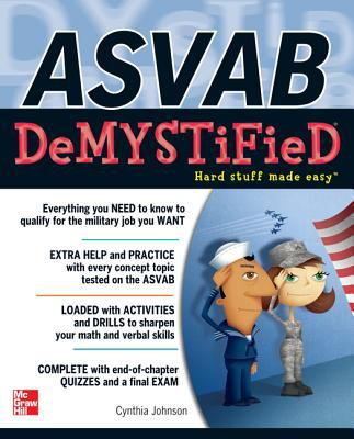 ASVAB DeMYSTiFieD   2013 9780071778350 Front Cover
