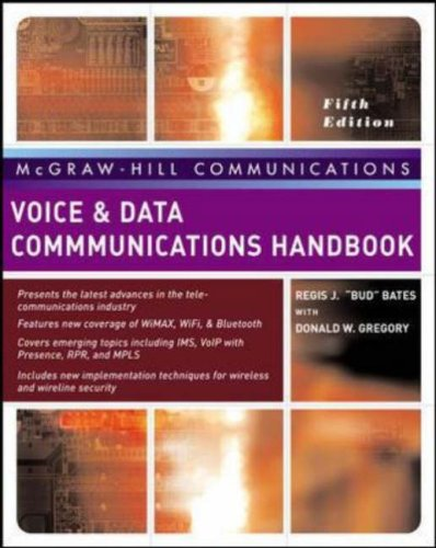 Voice and Data Communications Handbook  5th 2007 (Revised) edition cover