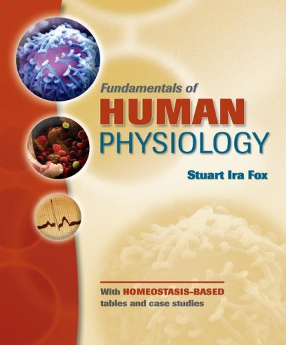 Fundamentals of Human Physiology   2009 edition cover